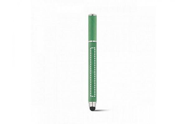 PAPYRUS. Шариковая ручка из крафт-бумаги и ABS, Зеленый