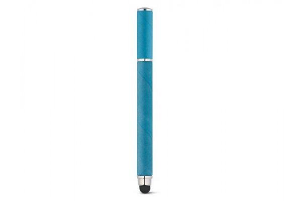 PAPYRUS. Шариковая ручка из крафт-бумаги и ABS, Голубой