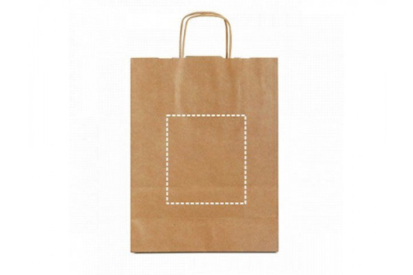 ELLEN. Пакет из крафт-бумаги, Натуральный