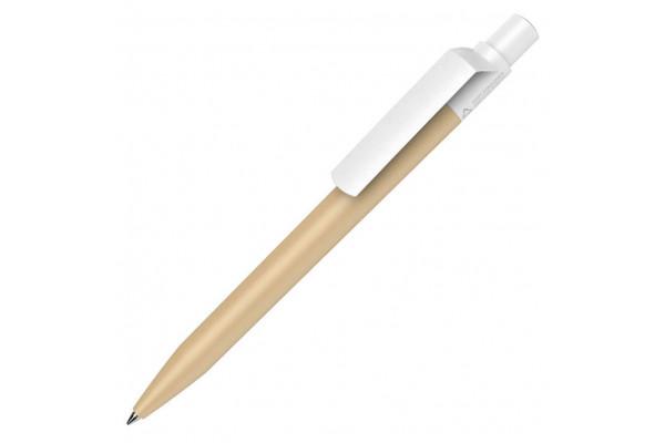 Ручка шариковая DOT RECYCLED, бежевый, переработанный пластик