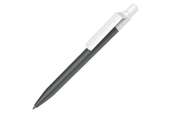 Ручка шариковая DOT RECYCLED, черный, переработанный пластик