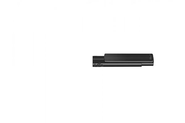Капиллярная ручка в корпусе из переработанного материала rPET RECYCLED PET PEN PRO FL, черный с синими чернилами