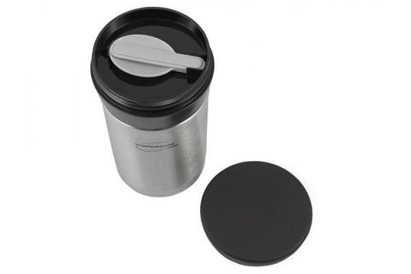 Термос из нерж. стали для еды тм ThermoCafe DFJ-500 food flask, 0.5L, металлический