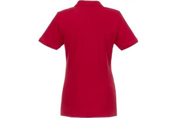 Женское Beryl поло из переработанных органических материалов с коротким рукавом, красный