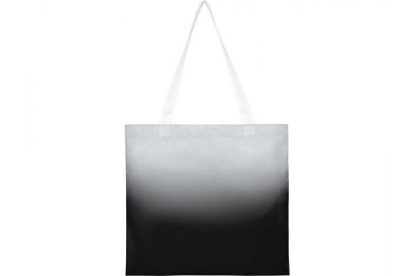 Эко-сумка Rio с плавным переходом цветов, черный