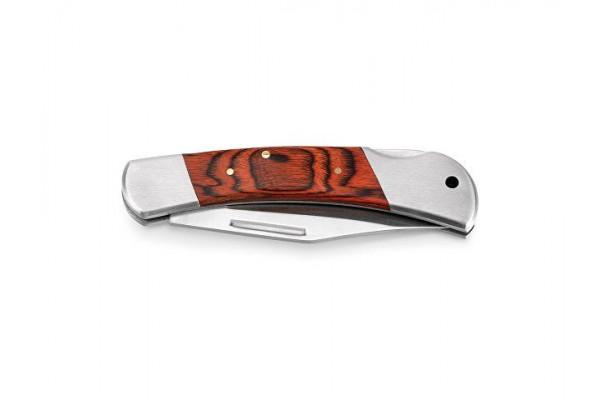 FALCON II. Карманный нож из нержавеющей стали и дерева, Натуральный темный