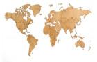 Деревянная карта мира World Map Wall Decoration Exclusive, дуб