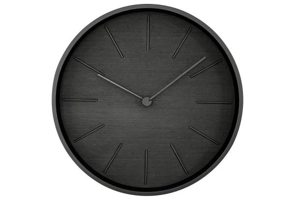 Часы настенные Plato, черное дерево