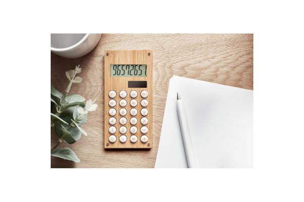 Калькулятор 8-разрядный бамбук