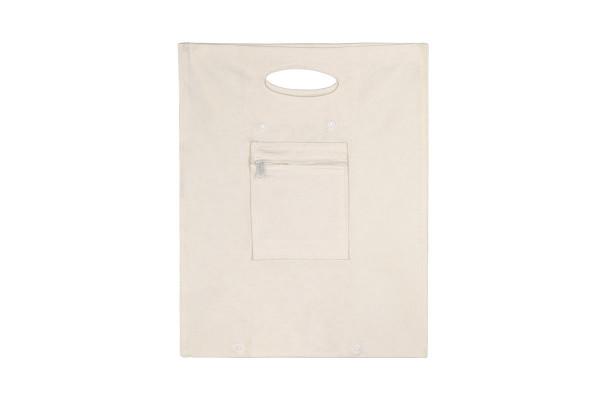Сумка для покупок складная, цвет белый
