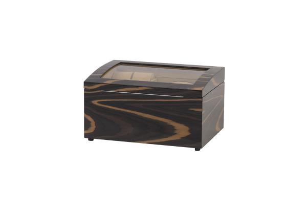 Шкатулка деревянная для часов с подзаводом, цвет коричневый