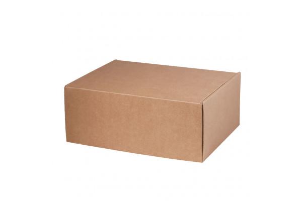 Подарочная коробка для набора универсальная, крафт, 280*215*113 мм