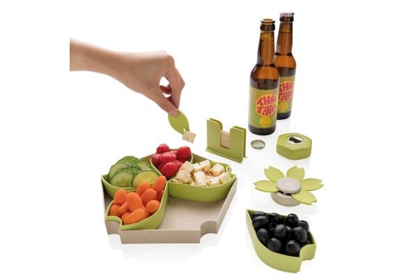 Кухонный набор ECO из 4 предметов, зеленый