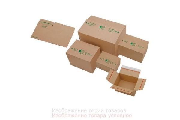 Короб архивный, разборный, гофрокартон, на клейкой ленте, 230x160x80 мм, коричневый цв., ULTRAPAC, ЭКО, пакет