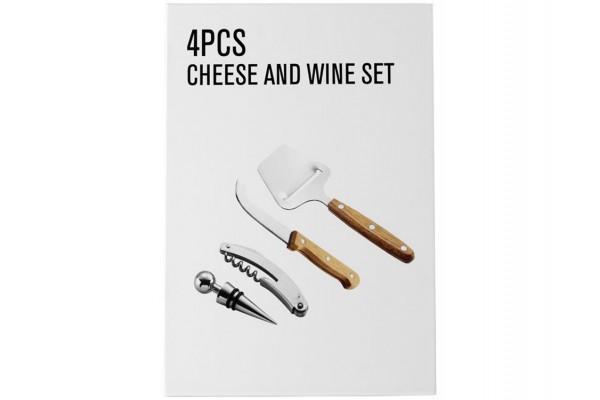 Подарочный набор для сыра и вина Nantes 4 предмета