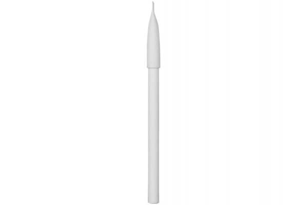 Ручка белый картон с колпачком Recycled