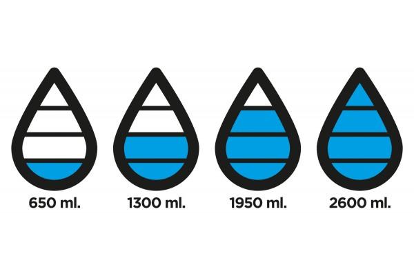 Бутылка для воды Aqua из материала Tritan, черная