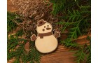 Подвеска Снеговик