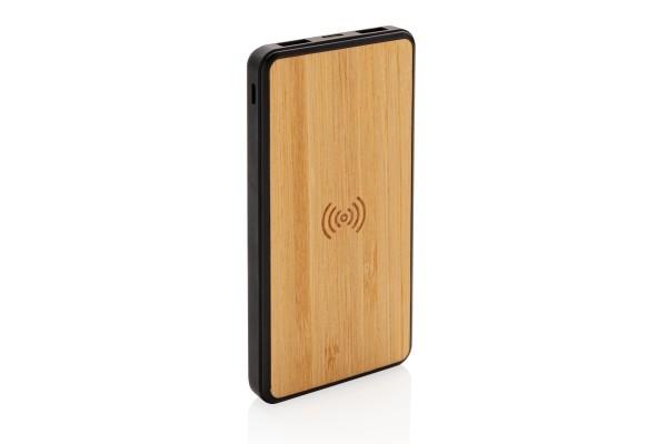 Бамбуковый беспроводной внешний аккумулятор Fashion, 8000 mAh
