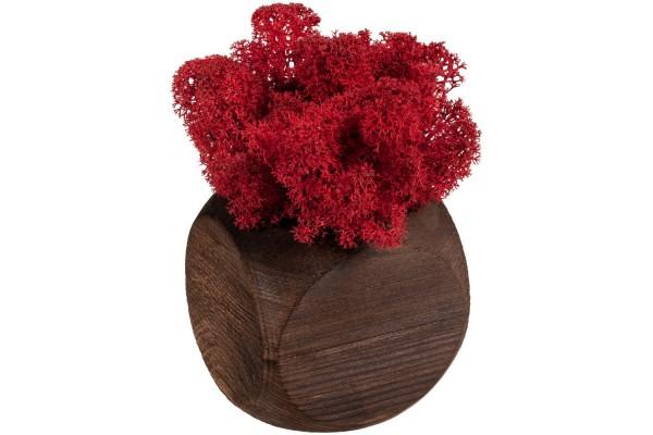Декоративная композиция GreenBox Dice, красный