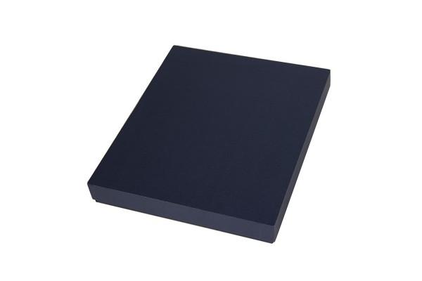 Коробка под ежедневник 145*205 мм и ручку, картон, темно-синий