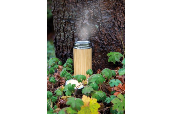 Герметичная вакуумная бутылка Bamboo, 350 мл