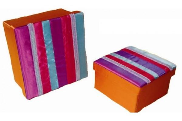 Набор из двух картонных шкатулок -12638