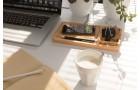 Настольный органайзер Bamboo с беспроводной зарядкой 5W