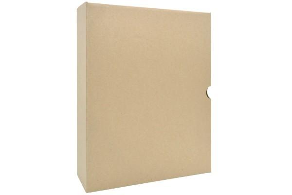 Короб архивный, микрогофрокартон, без застежки, 150 мм кор., 315х150х250 мм, коричневый цв., SPONSOR, пакет