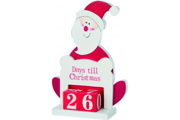 Деревянный Санта-Клаус
