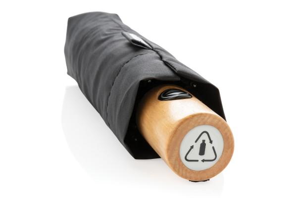 Автоматический эко зонт из RPET 21 черный