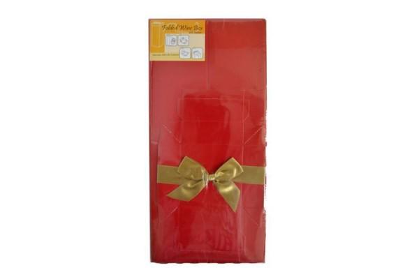 Коробка подарочная раскладная, для вина, 8*8*34 см, картон