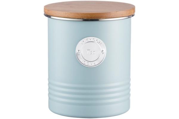 Емкость для хранения чая Living, голубая