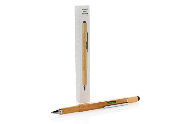 Многофункциональная ручка 5 в 1 Bamboo