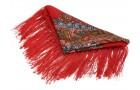 Подарочный набор Матрешка: штоф, платок
