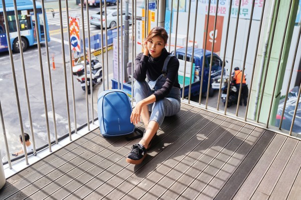 Антикражный рюкзак Bobby Hero Small, голубой