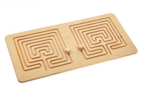 Межполушарная доска Wood Games, сложный квадрат
