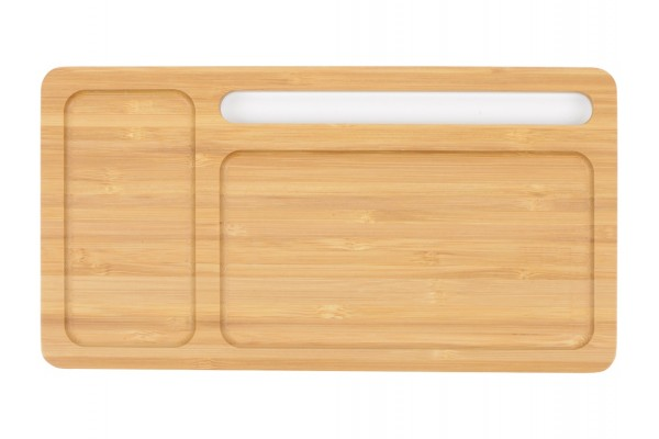Беспроводное зарядное устройство-органайзер из бамбука Timber
