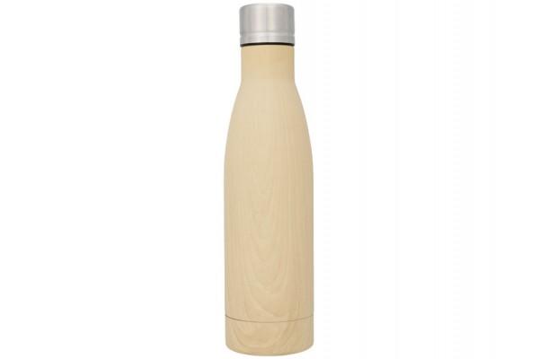 Вакуумная бутылка Vasa с покрытием под дерево