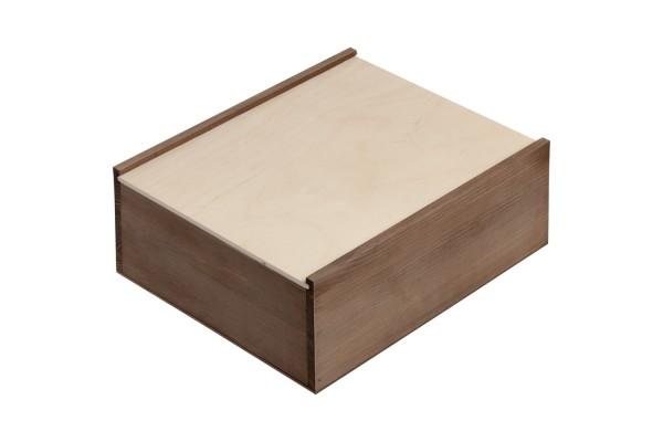 Деревянный ящик Karlo, большой, тонированный