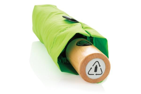 Автоматический эко зонт из RPET 21 ярко-зеленый