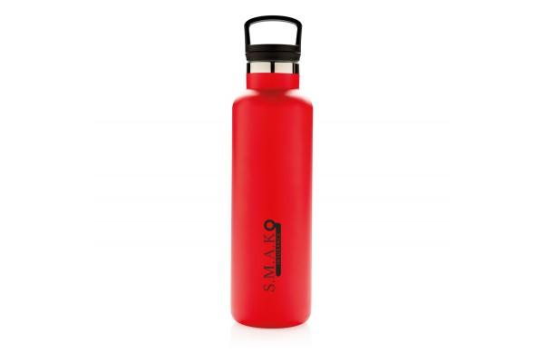 Герметичная вакуумная бутылка, красная