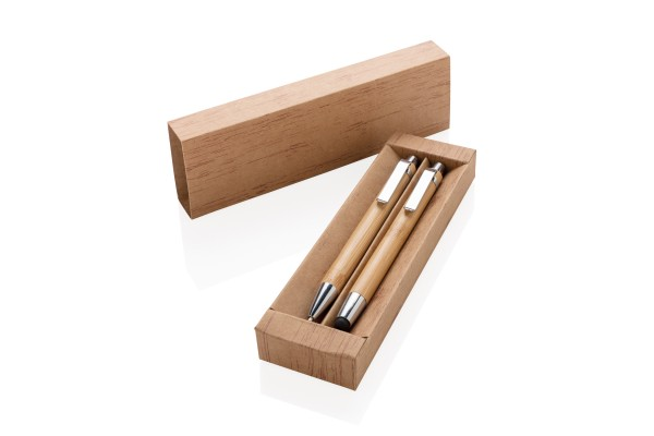 Набор Bamboo, коричневый