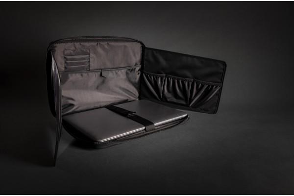 Чехол-органайзер для ноутбука Swiss Peak из экокожи (без ПВХ)