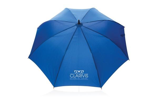 Автоматический эко зонт-антишторм из RPET 23 синий