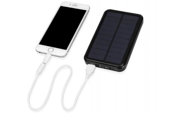 Портативное зарядное устройство Солар, 6000 mAh