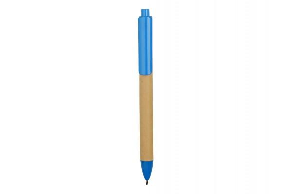 Ручка картонная шариковая Эко 2.0 голубая