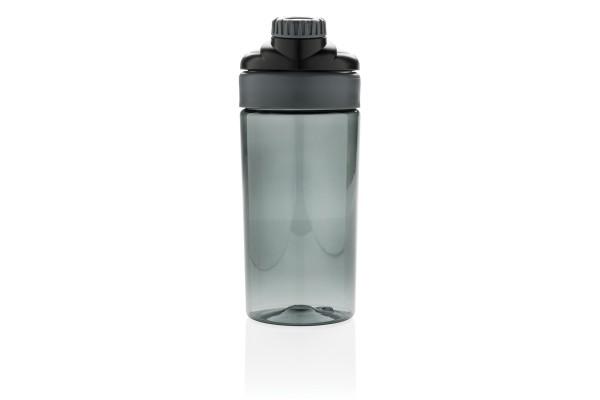 Бутылка для воды с беспроводными наушниками, черная