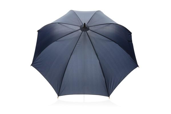 Автоматический эко зонт-антишторм из RPET 23 серый