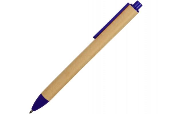Ручка картонная шариковая Эко 2.0 синяя